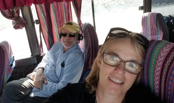 Bus ride to Rio Dulce
