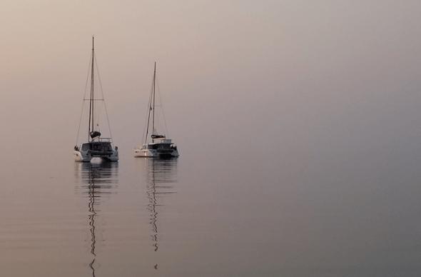 Hideaway Caye anchorage