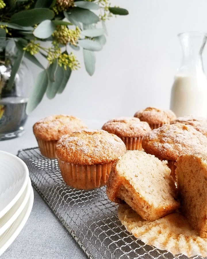 Snickerdoodle Banana Muffins
