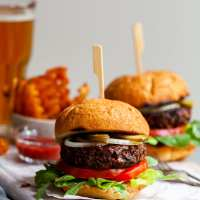 Vegan Burgers - Easy, Grillable and Hearty