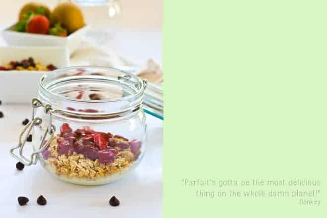 Breakfast Parfait Jars - Crumbs & Corkscrews