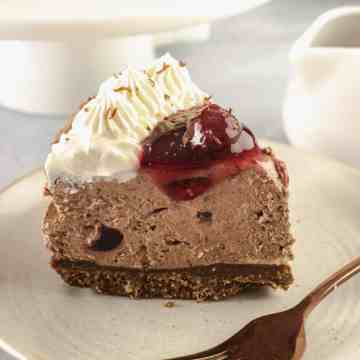 Black Forest Cheesecake - Featured Image