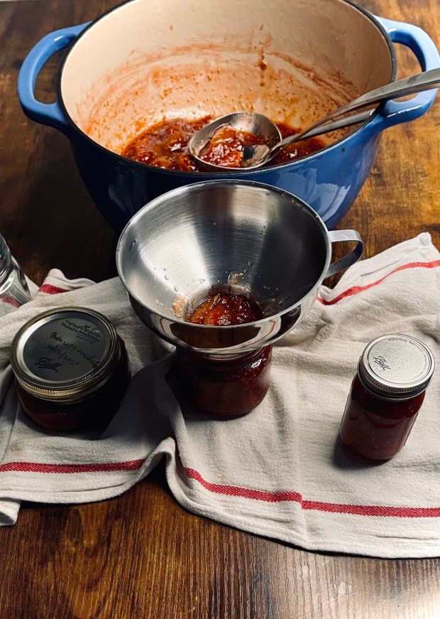canning vanilla honey fig jam
