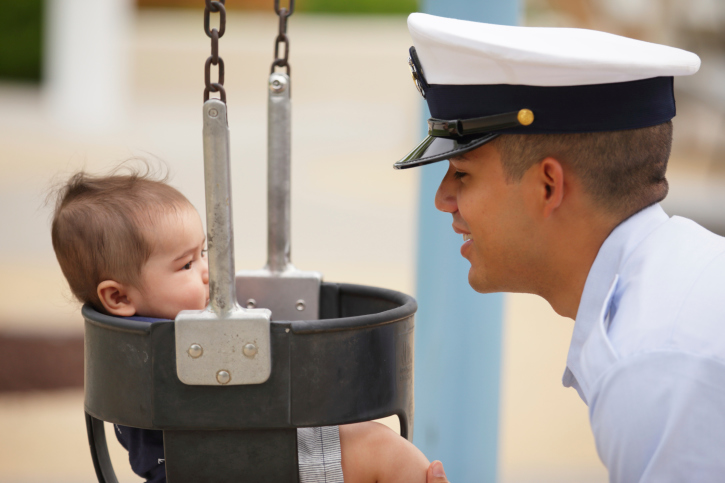 Featured Image for Advice For Military Dads