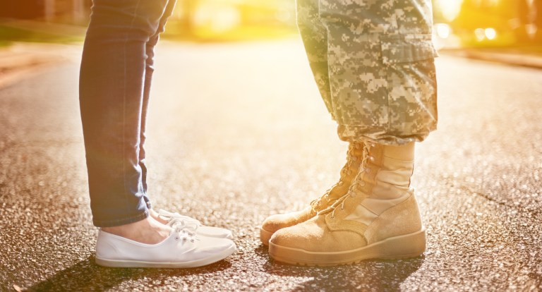 Featured Image for Blended Families and the Military