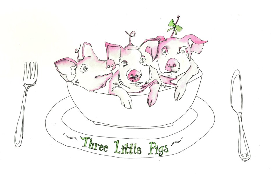 Tommy Boland_Almeida_Three Little Pigs_Mains
