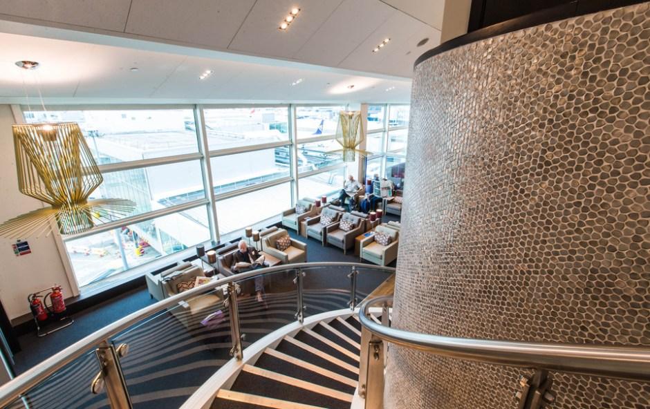 British Airways Gatwick South Terminal New Lounge