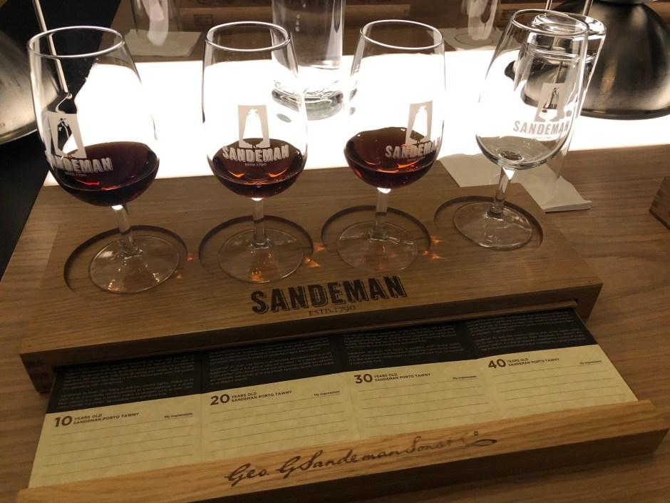 Sandeman tasting