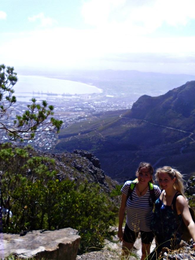 Hike up Table Mountin via Platteklip Gorge and take the cableway down to experience the revolving floor and open windows