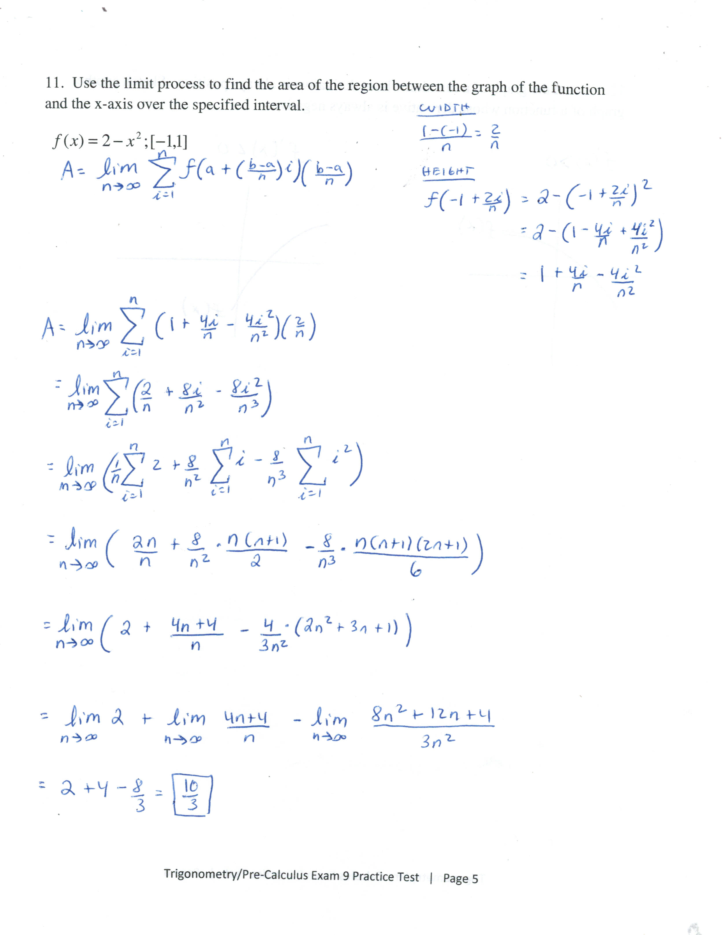 Chapter 11 Limits And An Introduction To Calculus
