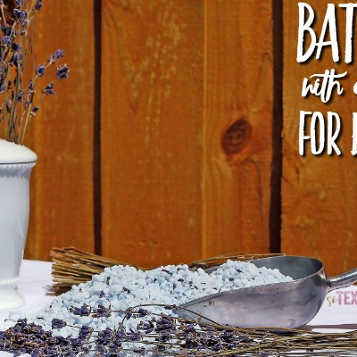 Bath Salts with Essential Oils for Every Need