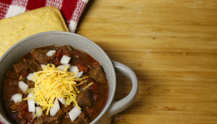 This Instant Pot chili recipe without beans is exactly the comforting meal you need on a cool day. There's just nothing better than Instant Pot Texas chili!