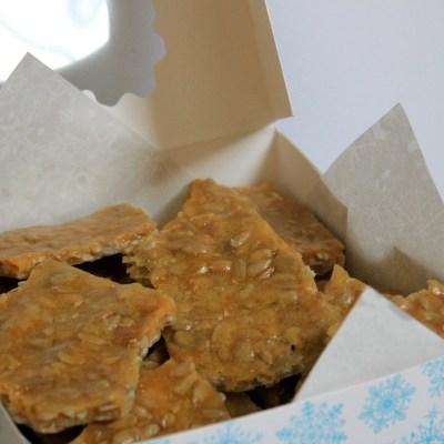 Sunflower Brittle Recipe– A Peanut-Free Brittle Recipe