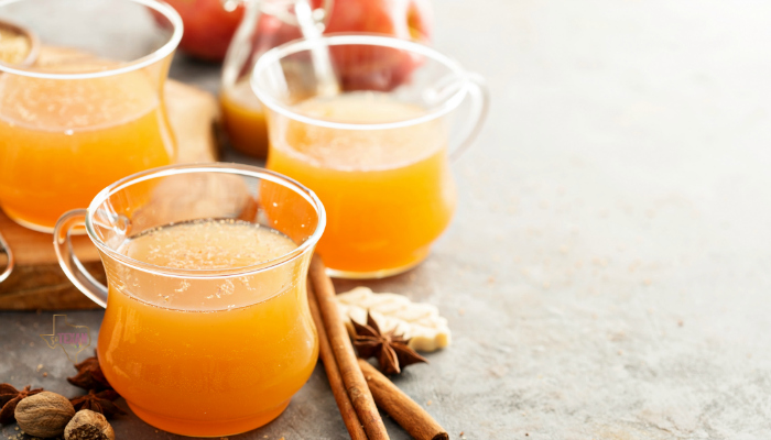 Making Instant Pot Apple Cider means I have a warm, spicy drink in WAY less time than it would take otherwise, without missing any of the flavor!