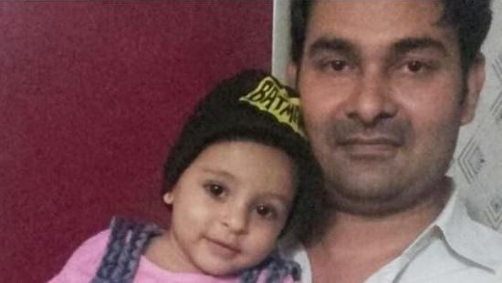 Baby Girl Areeba Khan swallowed LED Bulb in Mumbai India