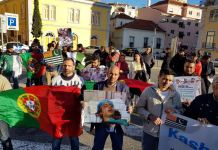 Kashmir Day in Portugal