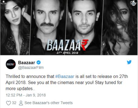 baazaar release date