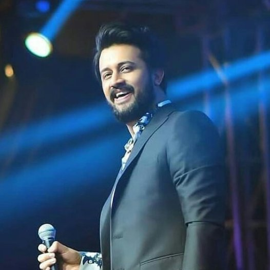 atif aslam new look