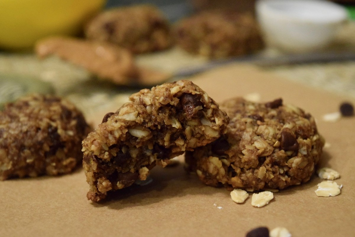 Peanut Butter, Oatmeal All Day, Every Day Cookies (Vegan & Gluten Free)