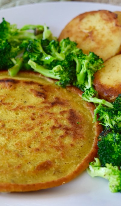 """Exceptionally Easy & Affordable, Egg-free, Chickpea """"Omelettes"""" (Vegan, Soy & Gluten Free)"""