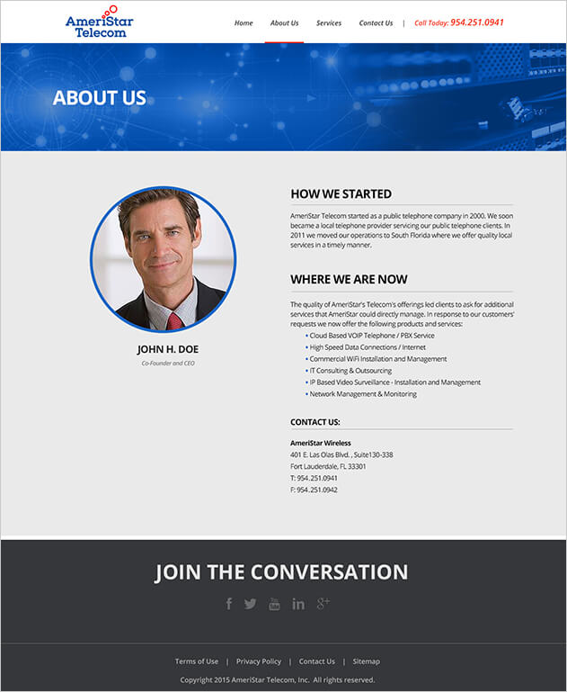 Ameristar Telecom - About