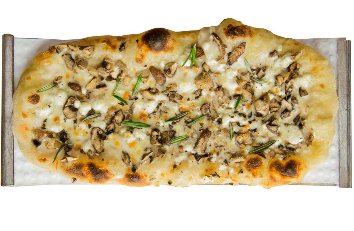 Crushed Red Mushroom Medley Urban Crafted Pizza