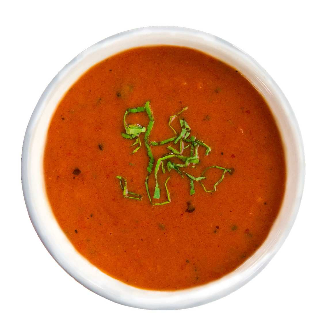 Crushed Red Roasted Red Pepper Soup