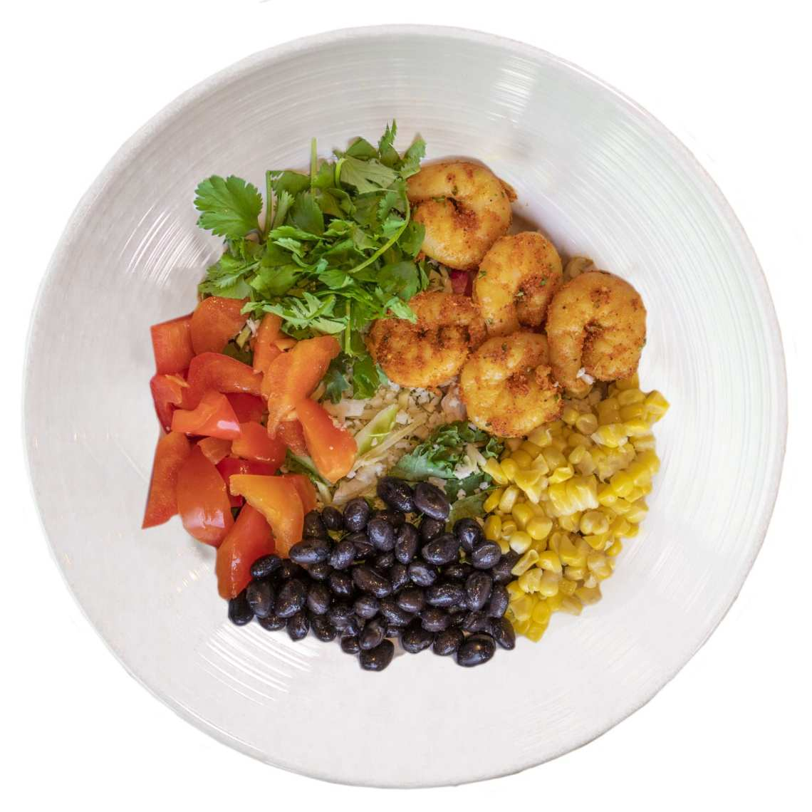 Crushed Red Ensenada Shrimp Crave-A-Bowl