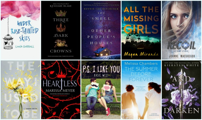 Must Read 2016 New Releases