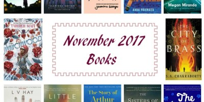 Adding to Your TBR November 2017