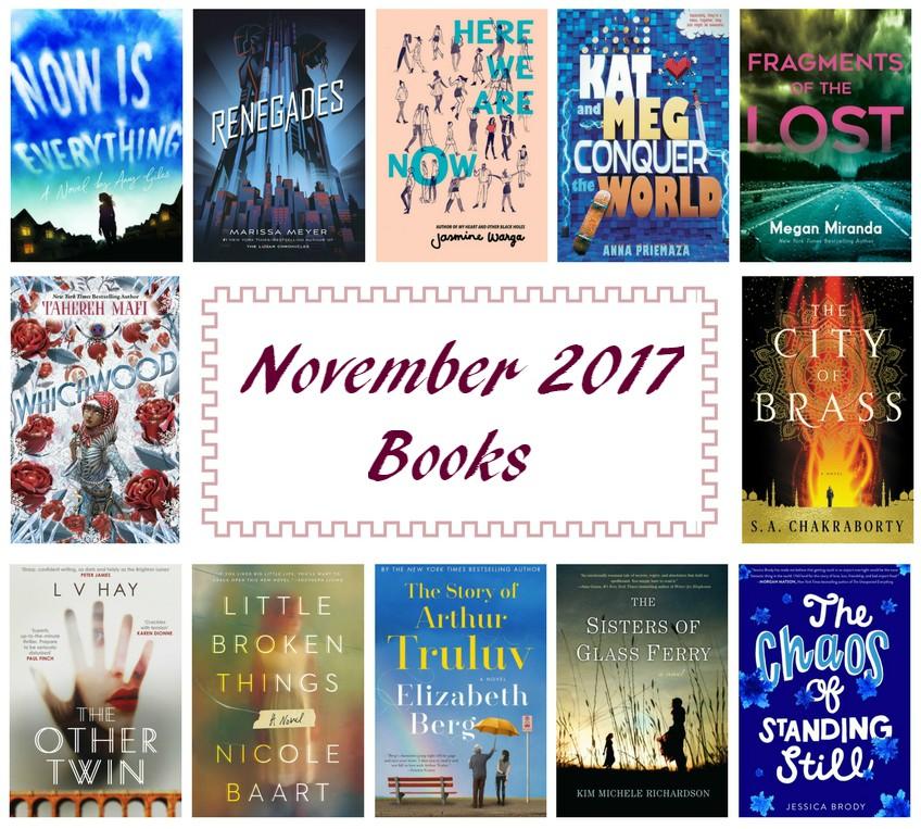 Adding to Your TBR November 2017