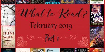 TBR February 2019