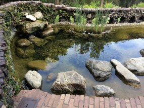 The Gamble House Pond