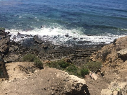 Below Pt. Fermin Park and Sunken City