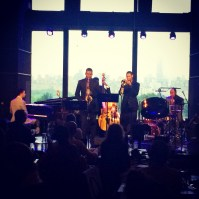Jonte Samuels and Kai Richardson at Dizzy's