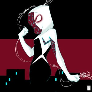 sideview_sunday_spider_gwen_by_e_carpenter-d87kntu
