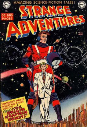 The cover to Strange Adventures #9, by Carmine Infantino.