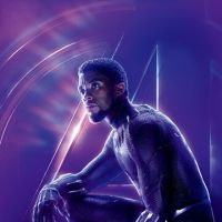 Chadwick Boseman as the Black Panther