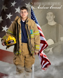 Andrew Conrad of Mahoning Valley Fire Company No 1 Photo by: Cruver Photography (www.cruverphotography.com)