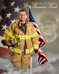 Brandon Ruch of Mahoning Valley Fire Company No 1 Photo by: Cruver Photography (www.cruverphotography.com)