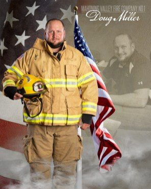 Doug Miller of Mahoning Valley Fire Company No 1 Photo by: Cruver Photography (www.cruverphotography.com)