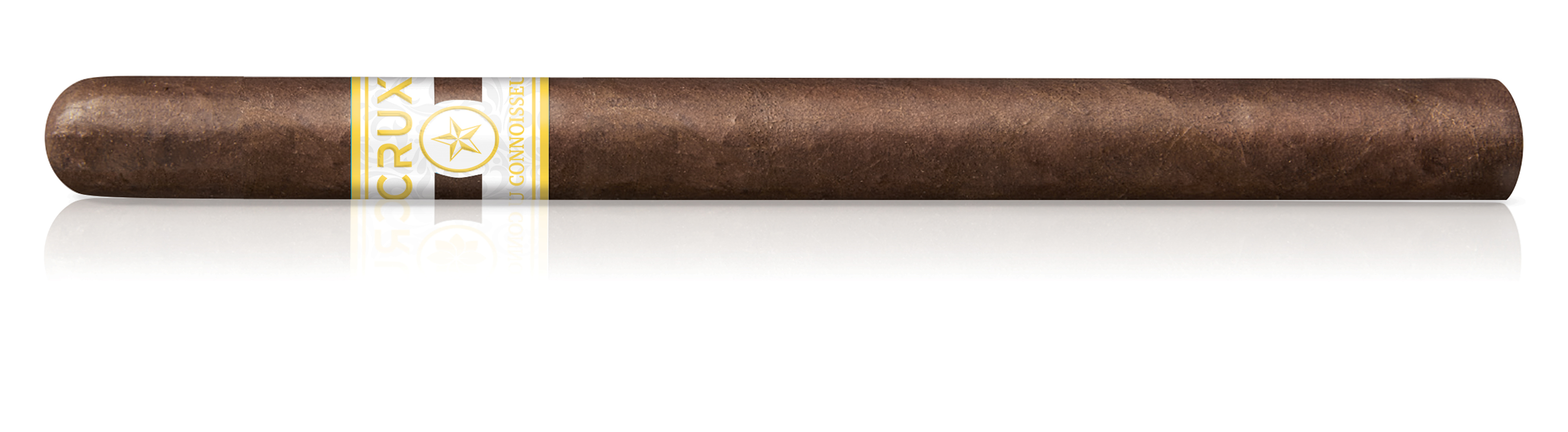 horizontal crux DuConnoisseur cigar