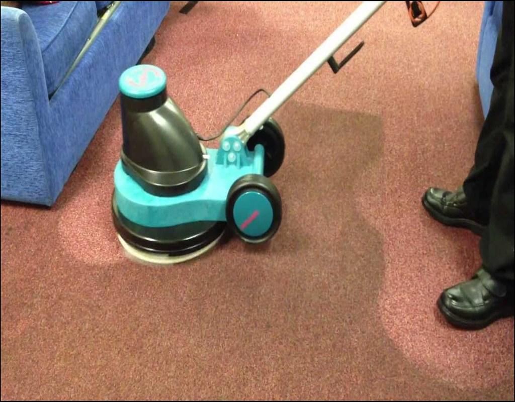 Bonnet Method Carpet Cleaning