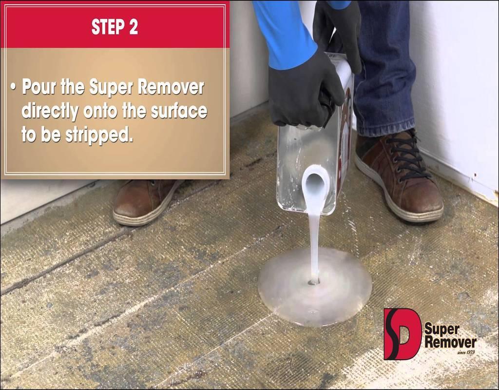 Carpet Glue Remover Concrete