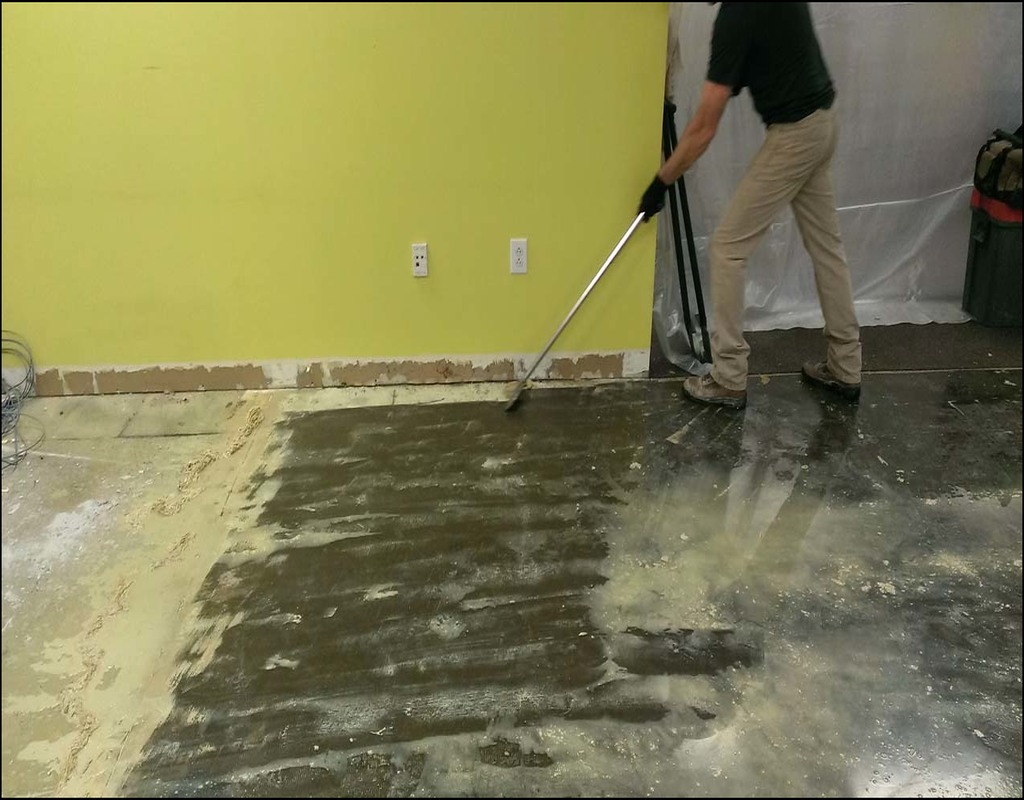 Carpet Glue Remover From Concrete