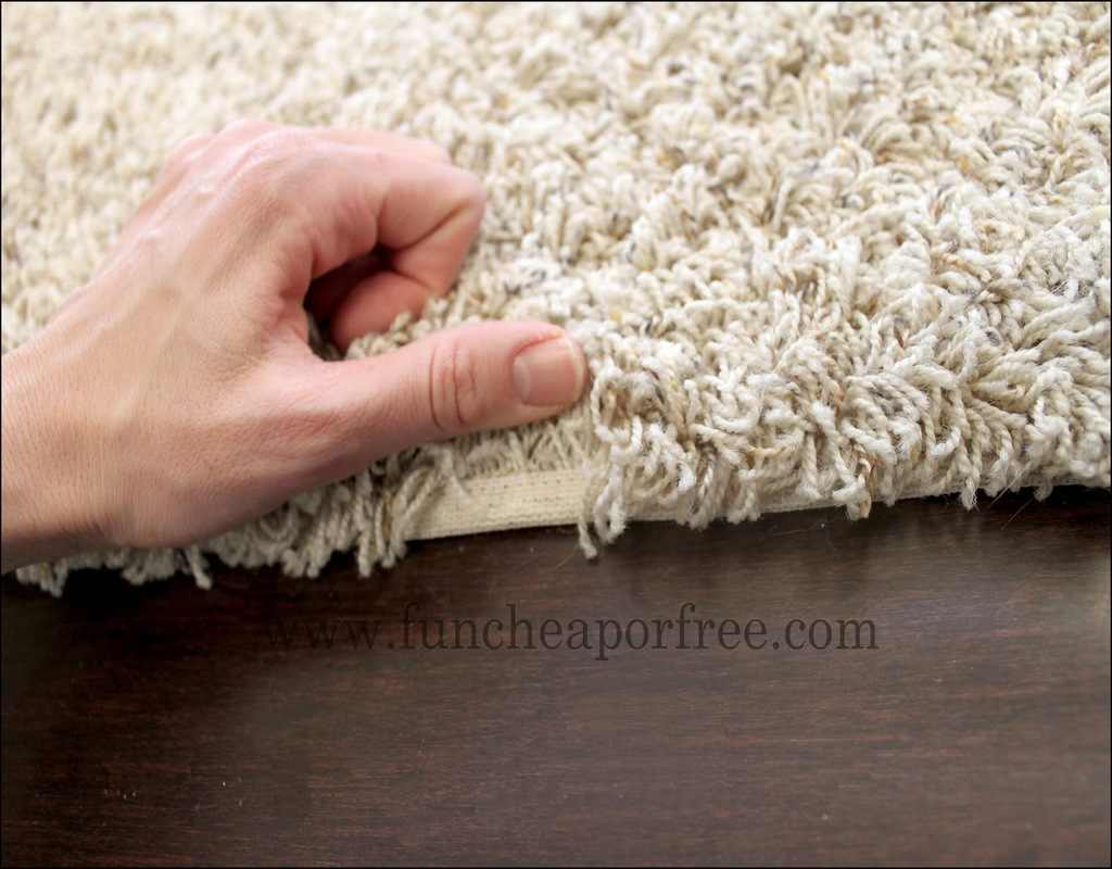 Carpet Remnants Bound Edges