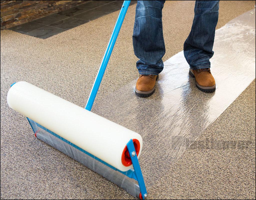 Plastic Sticky Carpet Protector