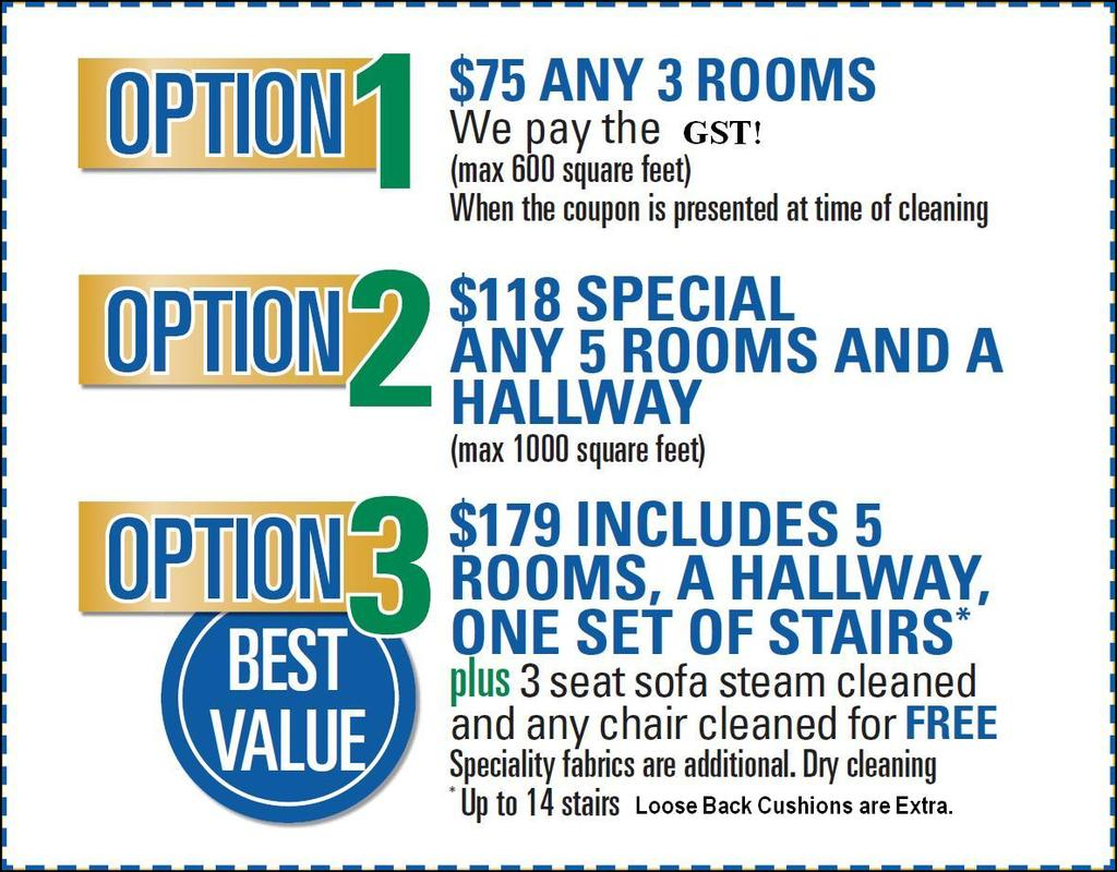 Sears Carpet Cleaning Specials