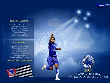O Cruzeiro é Campeão da Copa São Paulo de Futebol Júnior de 2007!