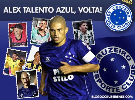 Alex Talento Azul,volta!
